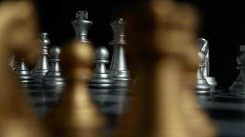 tablero de ajedrez y piezas de ajedrez.
