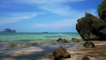 Beautiful Beaches And Rocks Of Krabi Thailand