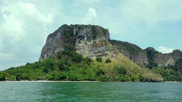 paesaggio di bellissime spiagge tropicali per una vacanza rilassante