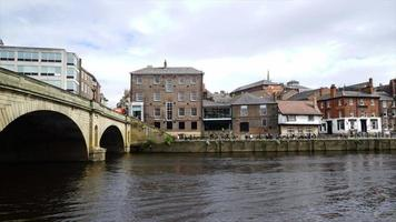 York City River View in UK video