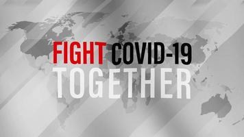 Fight COVID-19 Together video