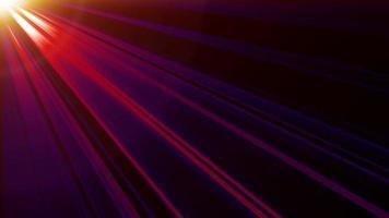 rayos de luz azul rosa roja desde la parte superior izquierda