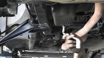 control de cambio de aceite del coche