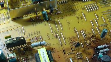Electronic Circuit Board Component video