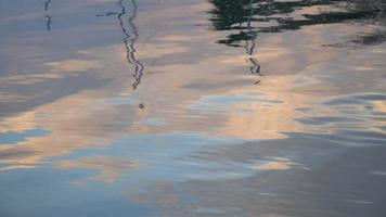 Abstract Reflections On The Water Surface