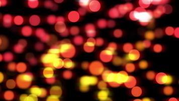 luces borrosas rojas y amarillas fondo bokeh