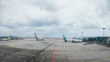 fliegenden Flughafen vorbereiten