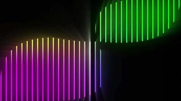 lazo de fondo de rayas de colores