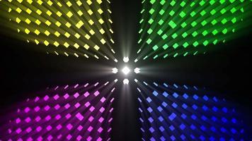 loop de fundo de luzes coloridas