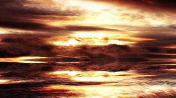 Fantasy Ocean And Evening Sky