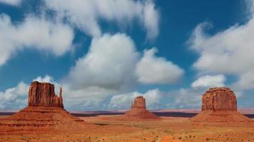 Timelapse at Monument Valley