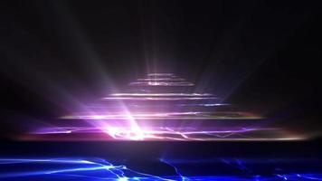 abstrakter bunter Bühnenboden video