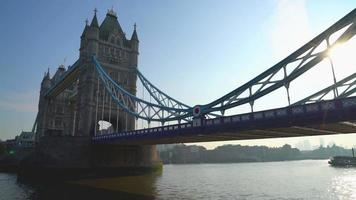 Tower Bridge em Londres, Reino Unido video