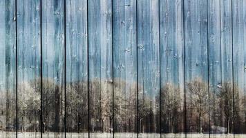 bucles de tablas de madera de invierno