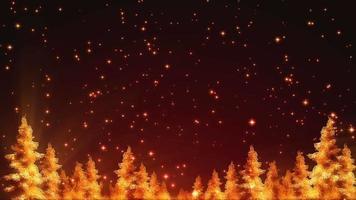 loop de fundo de natal brilhante