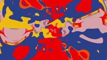 loop sem costura abstrato animado cintilante manchado de fundo. video