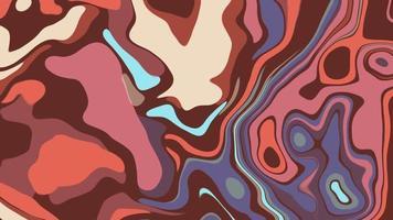 animação de textura ondulada multicolorida em movimento video