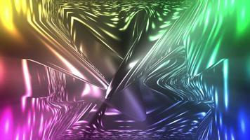 fluindo luzes coloridas video