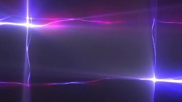 lazo de cables de luz brillante video