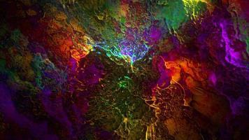 bucle de diseño líquido abstracto