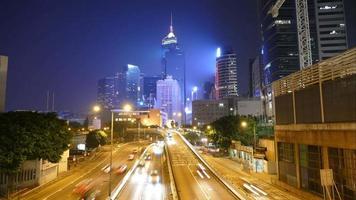 traffico a Hong Kong
