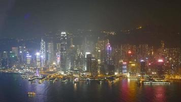 hong kong de noche video