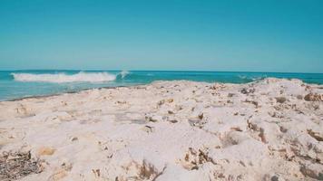 giorno d'estate sulla spiaggia di Formentera