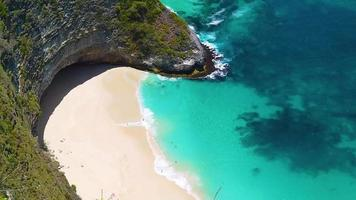 La playa de Kelingling, Nusa Penida, Bali, Indonesia