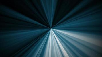 Animation of beautiful dark blue light radial