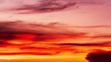 fundo colorido abstrato do pôr do sol video