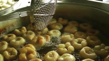 Sobremesas da cultura turca massa donut lokma