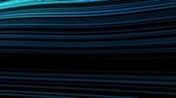 clip de vídeo abstracto ondeando rayas azules