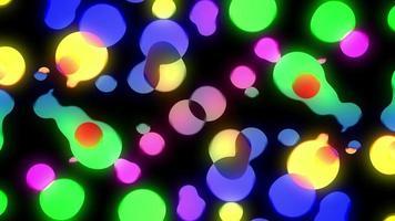 burbujas de fiesta líquidas