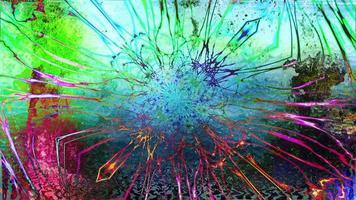 bucle de arte abstracto colorido