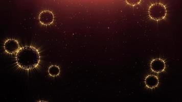 celda de brillo abstracto video
