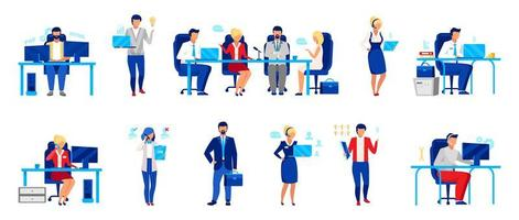 Business company staff vector
