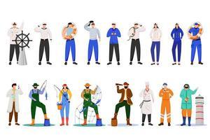 Maritime professions set