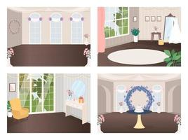 Wedding halls set