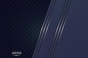 Elegant blue metallic background vector