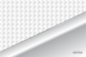 moderno fondo metálico blanco y plateado