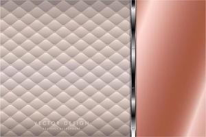 moderno fondo metálico rosa y plateado