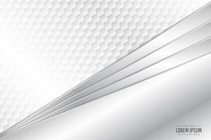 moderno fondo metálico plateado y blanco