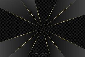 moderno fondo metálico negro y dorado