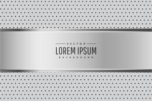 fondo metálico plateado moderno