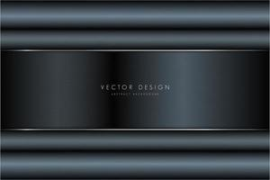 Modern metallic background vector