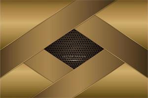 fondo metálico dorado moderno
