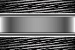 moderno fondo metálico plateado y gris