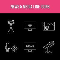 Unique News and Media App Set