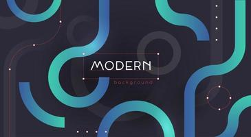 Colorful Gradient Abstract Shapes Background vector