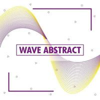fondo ondulado abstracto vector